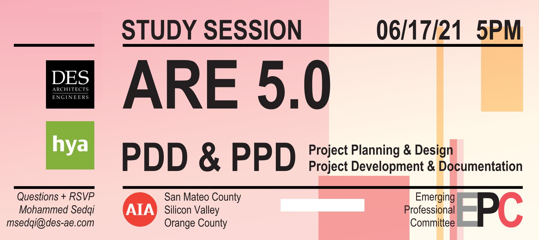 ARE 5.0 Study Session - PPD & PDD